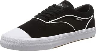 Hammer VTG Low Top Skate Shoes, Black-White, 14.5 M US Women/13 M US Men