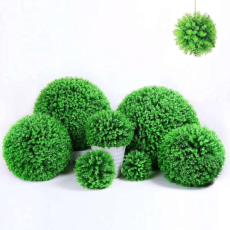 Livronic Artificial Jacksonville Mall Plant Large Time sale Topiary - Plants Lifelike Balls