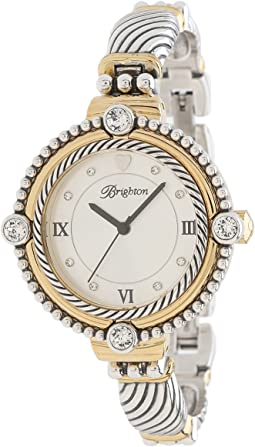 441bab090ea8 Brighton turin watch silver gold
