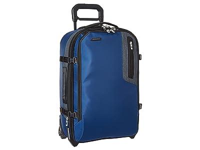 Briggs & Riley BRX Explore Domestic Upright (Blue) Pullman Luggage