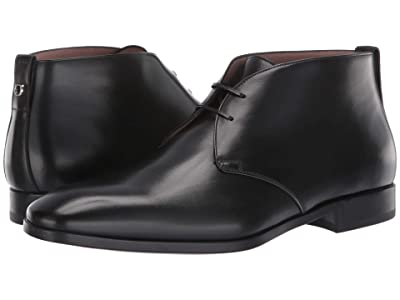 Salvatore Ferragamo Teodoro Ankle Boot (Black) Men
