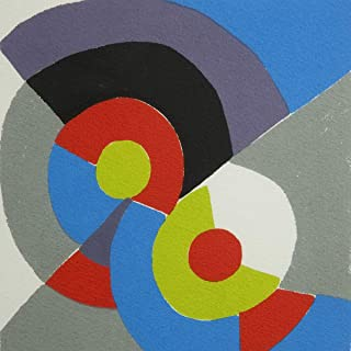 Berkin Arts Sonia Delaunay Giclee Print On Paper-Famous Paintings Fine Art Poster-Reproduction Wall Decor(Rhythm Rhythm) #XZZ