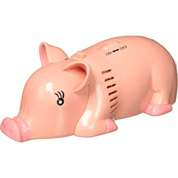 Wrapables Animal Mini Tabletop Vacuum, Pig - Cordless