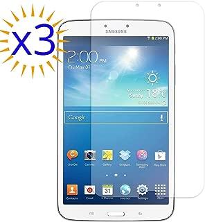A&M81 3X Clear Screen Protector for Samsung Galaxy Tab 3 8.0