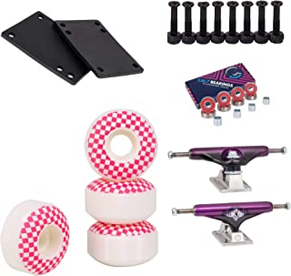skateboard trucks and wheels