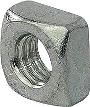 AERZETIX - 20 stuks Vierkante moer - M6 - Verzinkt staal - DIN 557 - C45450