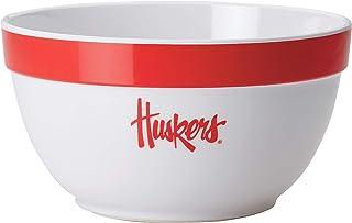 College Kitchen Nebraska Cornhuskers Serveware/Mixing and Serving Bowl, 4.75 Quart, White