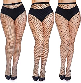 plus size outfits with fishnets