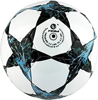 YUDA Balón DE Futbol, Talla 5, Pelotas de Fútbol, Paneles hexagonales y pentagonales