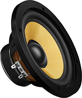 MONACOR SPH-174KE Hi-Fi bas-midrange driver, luidsprekerchassis in klassiek design en met hoogwaardig diafragma voor insta...