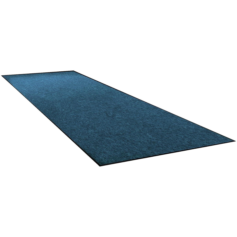 Discount mail order BOX USA BMAT349BE Economy Vinyl Carpet Mats 4' Blue Sale Special Price x 6'