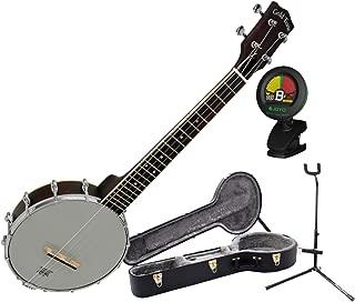 Gold Tone BUT Tenor Banjo Uke Banjolele w/ Hardshell Case Stand and Tuner