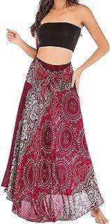 Women's Long Bohemian Style Gypsy Boho Hippie Skirt