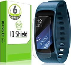 IQShield Screen Protector Compatible with Samsung Gear Fit2 (Gear Fit 2)(6-Pack) Anti-Bubble Clear Film