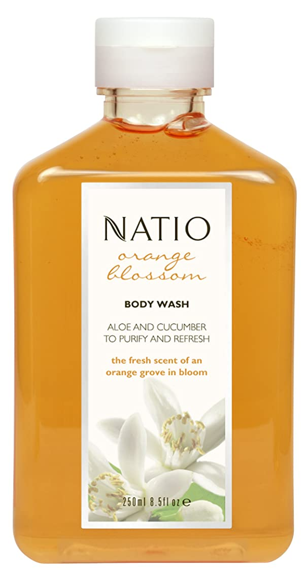 特権逃れる味わうNatio Orange Blossom Body Wash 250ml