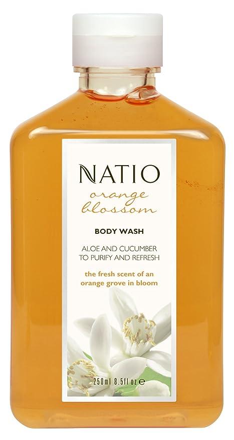比類なきミル掘るNatio Orange Blossom Body Wash 250ml