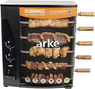 Churrasqueira 5 Espetos Rotativa Gás - AGR05, Arke