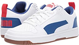 Puma White/Galaxy Blue/High Risk Red