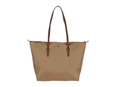 LAUREN Ralph Lauren Keaton 26 Shopper (Clay) Handbags