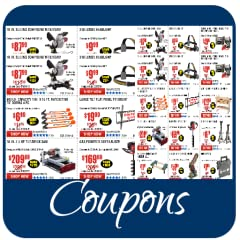 * Liquidation coupons * Special coupons. * Extra coupons. * Shopping list. * Harbor Freight coupons. 20% off coupons. Free gifts coupons. Harbor freight tools coupons. * 25% off coupons on holidays. * Upload your own coupons to the app server. * Shar...