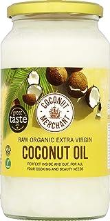 Coconut Merchant - Aceite de coco virgen extra orgánico, 1000 ml Pack de 2