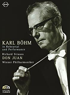 Karl Bhm in Rehearsal and Performance [DVD Video]