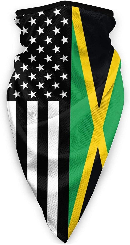 Jamaican USA Max 56% OFF Flag Face Mask Neck Popularity Gaiters Balaclava Scarf Bandana