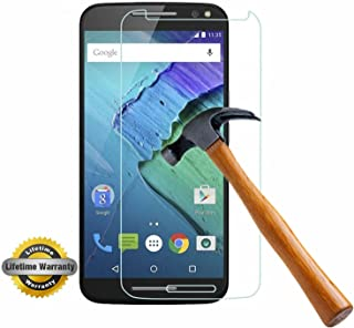 Moto X Pure Edition Screen Protector, SOOYO(TM) Tempered Glass Screen Protector (99% Clarity/Shatter-Proof/Bubble Free) for Motorola Moto X Pure Edition (2015) / X Style [Lifetime Warranty]-[1Pack]