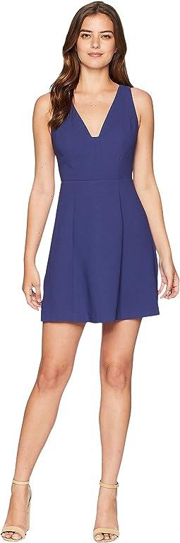 Halter Dress with Back Detail