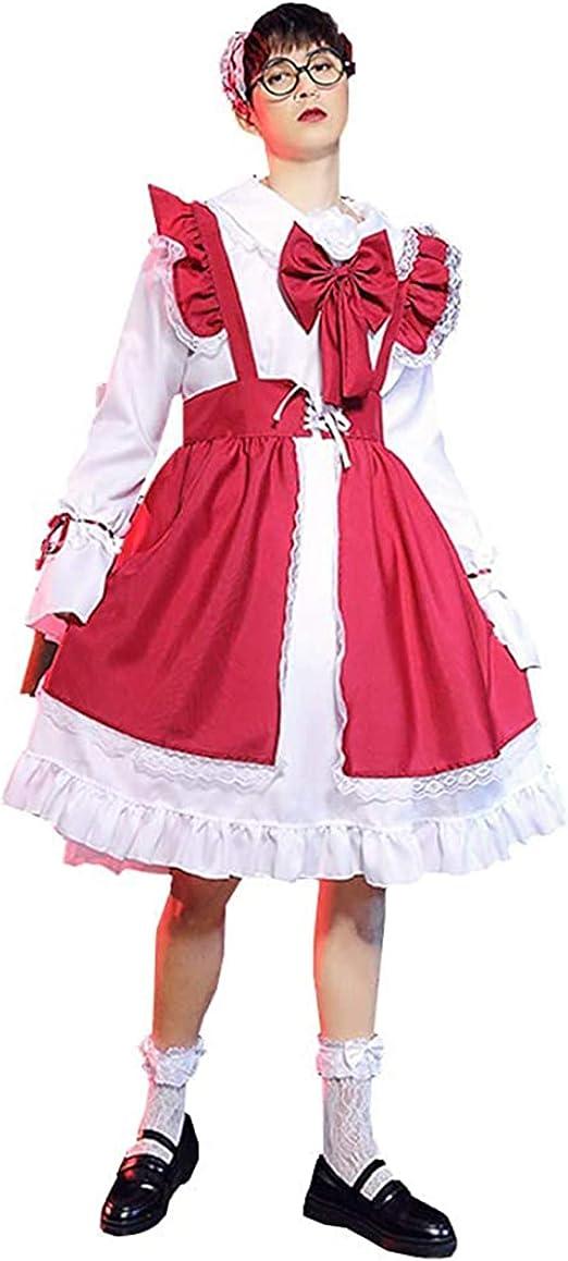 traje de maid para hombre