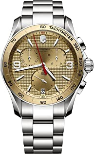 Victorinox Swiss Army - Reloj Cronógrafo para Hombre de Cuarzo con Correa en Acero Inoxidable 241658
