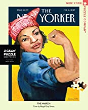 New York Puzzle Company - New Yorker The March - 500 Piece Jigsaw Puzzle