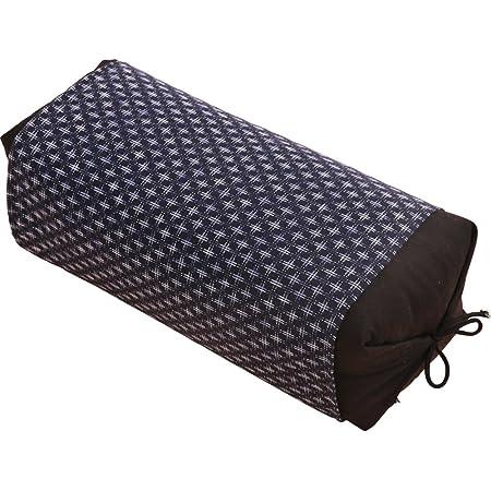 アイリスプラザ 枕 そばがら 日本製 国産茶葉入り 抗菌 男のそば枕 高さ・硬さ 調節可能 程よい硬さ 安定感 へたりにくい 通気性 吸湿性 専用カバー付