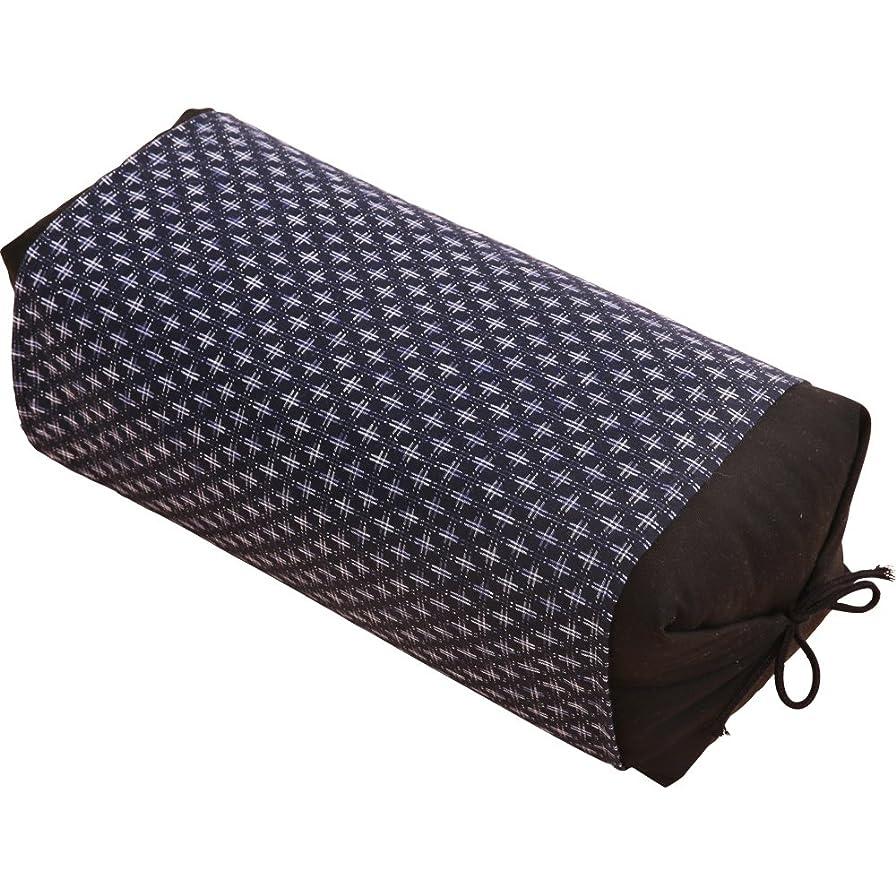会話型サーフィン大理石アイリスプラザ 枕 そばがら 国産茶葉入り 抗菌 男のそば枕 高さ調節可能 40×20㎝ カバー付き