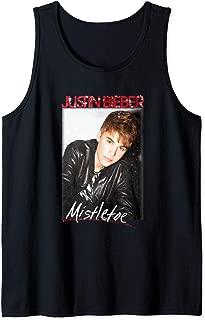 Justin Bieber Official Mistletoe Single Cover Tank Top