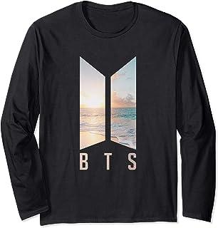 تی شرت آستین بلند مردانه کالاهای Bangtan Boys Bangtan کره جنوبی BTS Kpop