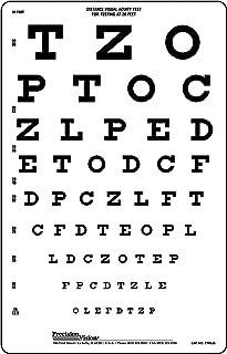 Snellen Translucent Distance Vision Eye Test Chart