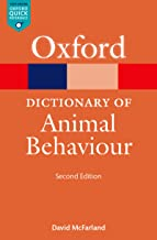 A Dictionary of Animal Behaviour (Oxford Quick Reference Online)