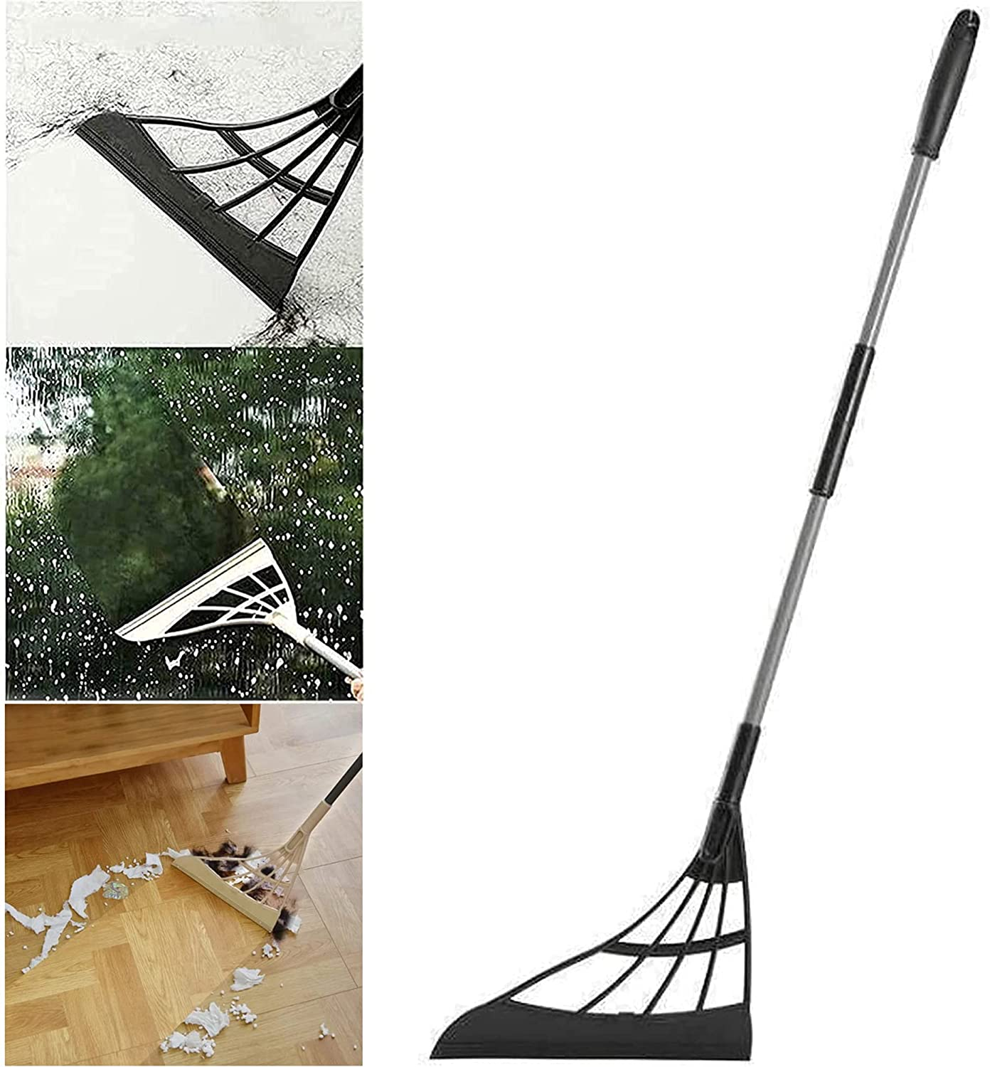 2021 New Multifunction Magic Milwaukee Mall Max 46% OFF Broom with Sweeper Te 2-in-1
