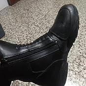 TB-ALN Tama/ño 44 botas de viaje en moto Protectwear Botas de moto de media altura W-2008