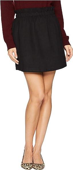 Super Suede Mini Skirt