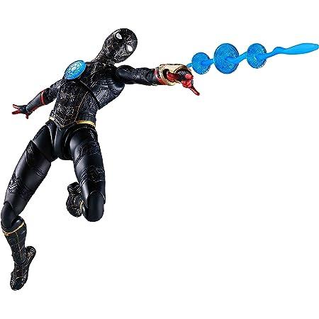【メーカー初回特典つき】 S.H.フィギュアーツ スパイダーマン [ブラック&ゴールドスーツ] (スパイダーマン:ノー・ウェイ・ホーム) 約150mm ABS&PVC製 塗装済み可動フィギュア