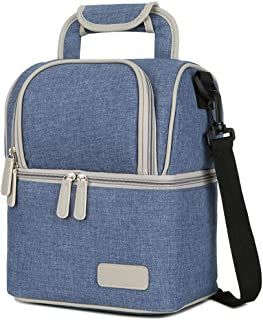 Mengshen Breast Milk Baby Bottle Cooler Bag/Waterproof Baby Milk Bag Freezer/Mommy Travel Backpack/Portable Thermal Insula...