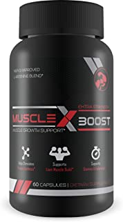 Best Selling- Muscle X Boost- Premium L-Arginine Formula- Extra Strength Muscle Growth Support- Nitric Oxide Booster-Build...