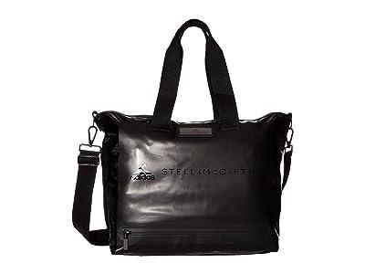 adidas by Stella McCartney Medium Studio Bag FI6951 (Black/Gunmetal) Duffel Bags