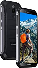 Điện thoại di động Android – DOOGEE S40 LITE Rugged Outdoor Smartphone Unlocked Android 9.0, Dual SIM Free Tough Mobile Phone 2GB+16GB, 5.5 Inch IP68 Waterproof Cell Phone 4650mAh, 8MP+5MP Dual Rear Cameras Face ID GPS, Black