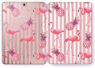 Wonder Wild Pineapple Flamingo Samsung Galaxy Tab S4 S2 S3 Smart Stand Case 2015 2016 2017 2018 Tablet Cover 8 9.6 9.7 10 10.1 10.5 Inch Clear Design Animals Fruits Tropical Girly Pink Geometrical