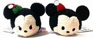 Disney ''Tsum Tsum'' Holiday Mickey & Minnie Plush set by Disney