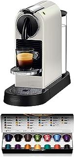 Nespresso De'Longhi Citiz EN167.W - Cafetera monodosis de cápsulas Nespresso, compacta, 19 bares, apagado automático, colo...