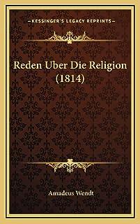 Reden Uber Die Religion (1814)